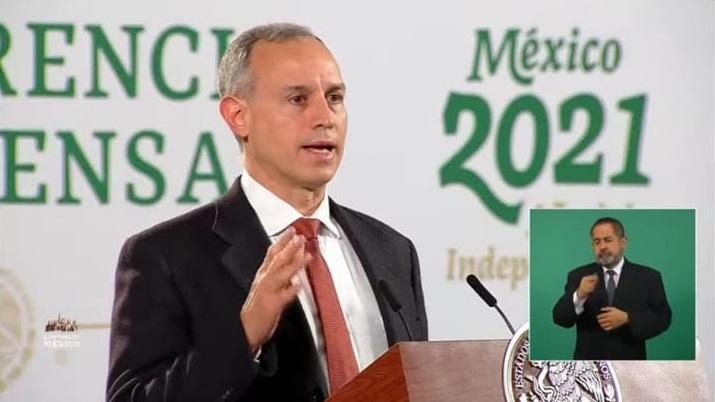 CASOS DE COVID EN MÉXICO VAN A LA BAJA: LÓPEZ-GATELL