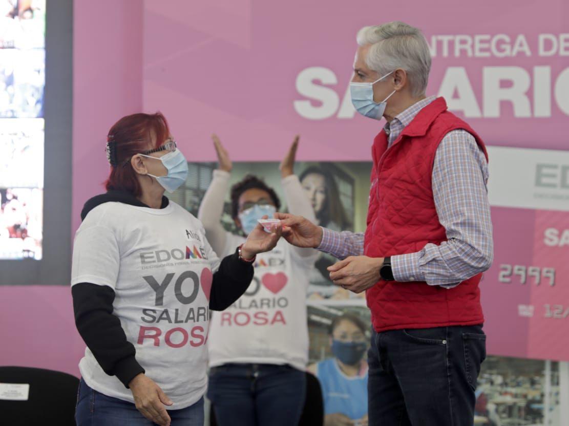 BRINDA SALARIO ROSA CAPACITACIÓN A TRAVÉS DE 27 CURSOS PARA AMAS DE CASA