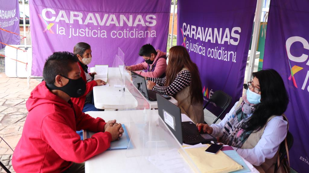 CAPACITAN A FUNCIONARIOS MUNICIPALES A TRAVÉS DE CARAVANAS POR LA JUSTICIA
