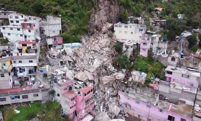 DEMOLERÁN VIVIENDAS EN LA ZONA DE RIESGO DEL CERRO DEL CHIQUIHUITE