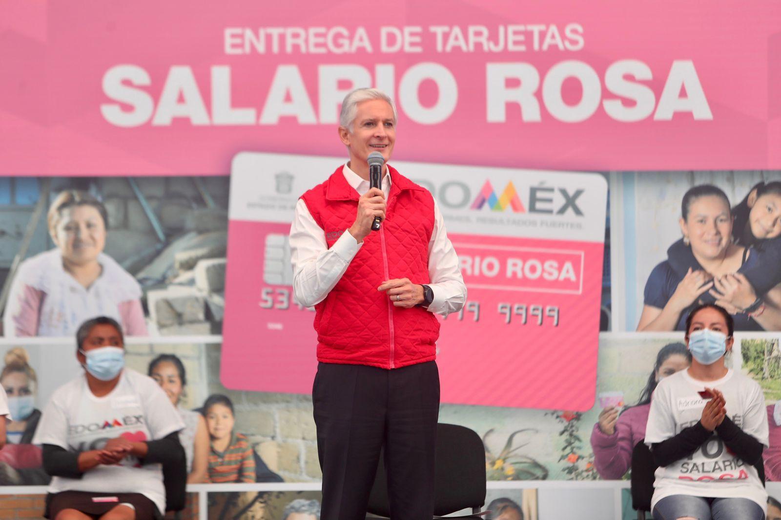 SALARIO ROSA APOYA AL ESFUERZO DE LAS AMAS DE CASA DEL EDOMÉX