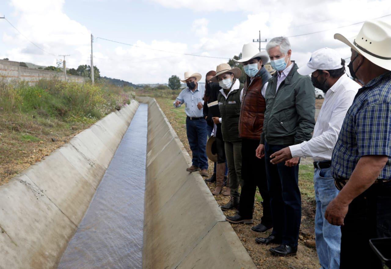distribución de agua