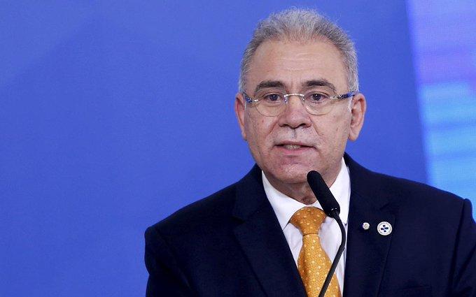MINISTRO DE SALUD DE BRASIL VUELVE A DAR POSITIVO A COVID-19 EN EU