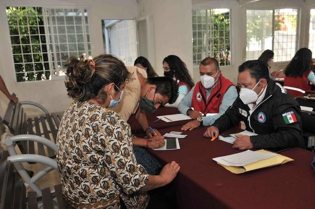 ENTREGA GEM INCENTIVOS A FAMILIAS AFECTADAS POR DERRUMBE DE CERRO