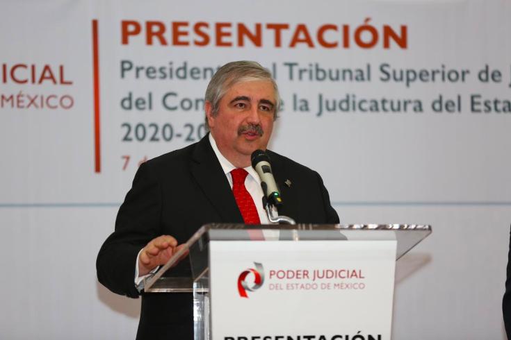 DA POSITIVO A COVID EL PRESIDENTE DEL TRIBUNAL SUPERIOR DE JUSTICIA DEL EDOMÉX
