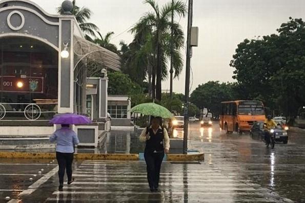 EMITEN ALERTA DE LLUVIA EN CHIAPAS, OAXACA, TABASCO, CAMPECHE Y VERACRUZ