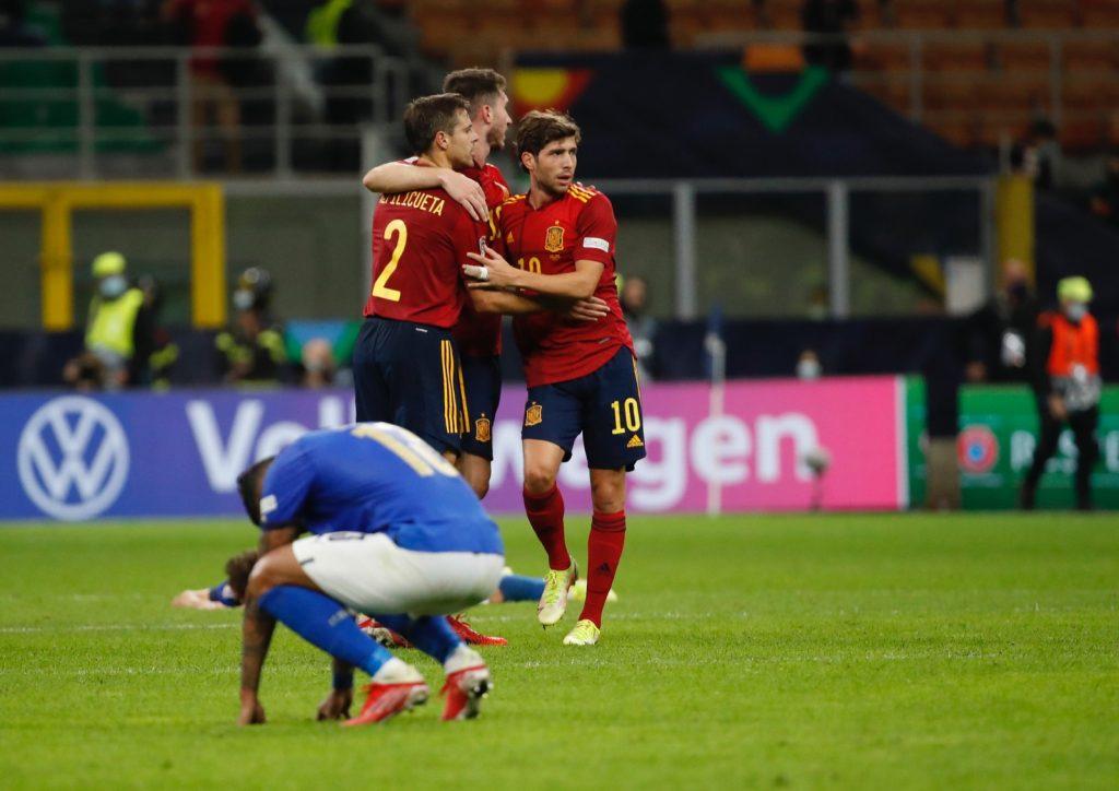 ESPAÑA VENCE A ITALIA EN LA SEMIFINAL DE LA NATIONS LEAGUE