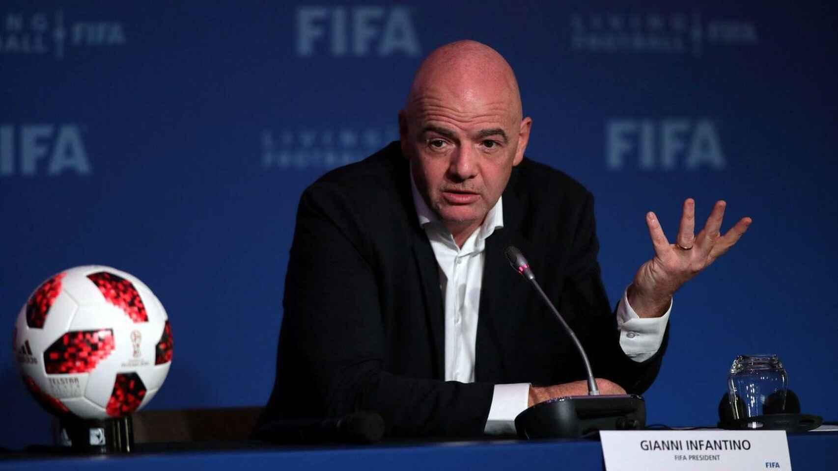 PRESIDENTE DE LA FIFA BUSCA QUE EL MUNDIAL SE JUGUÉ CADA 2 AÑOS