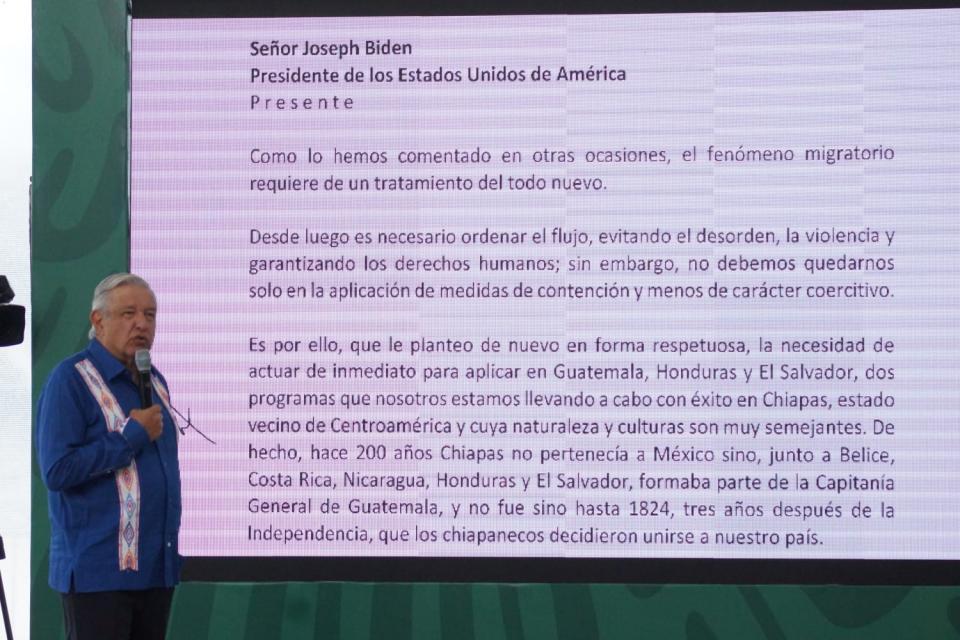 ABORDAR EL TEMA DE MIGRACIÓN ES PRIORIDAD, DICE BIDEN A AMLO