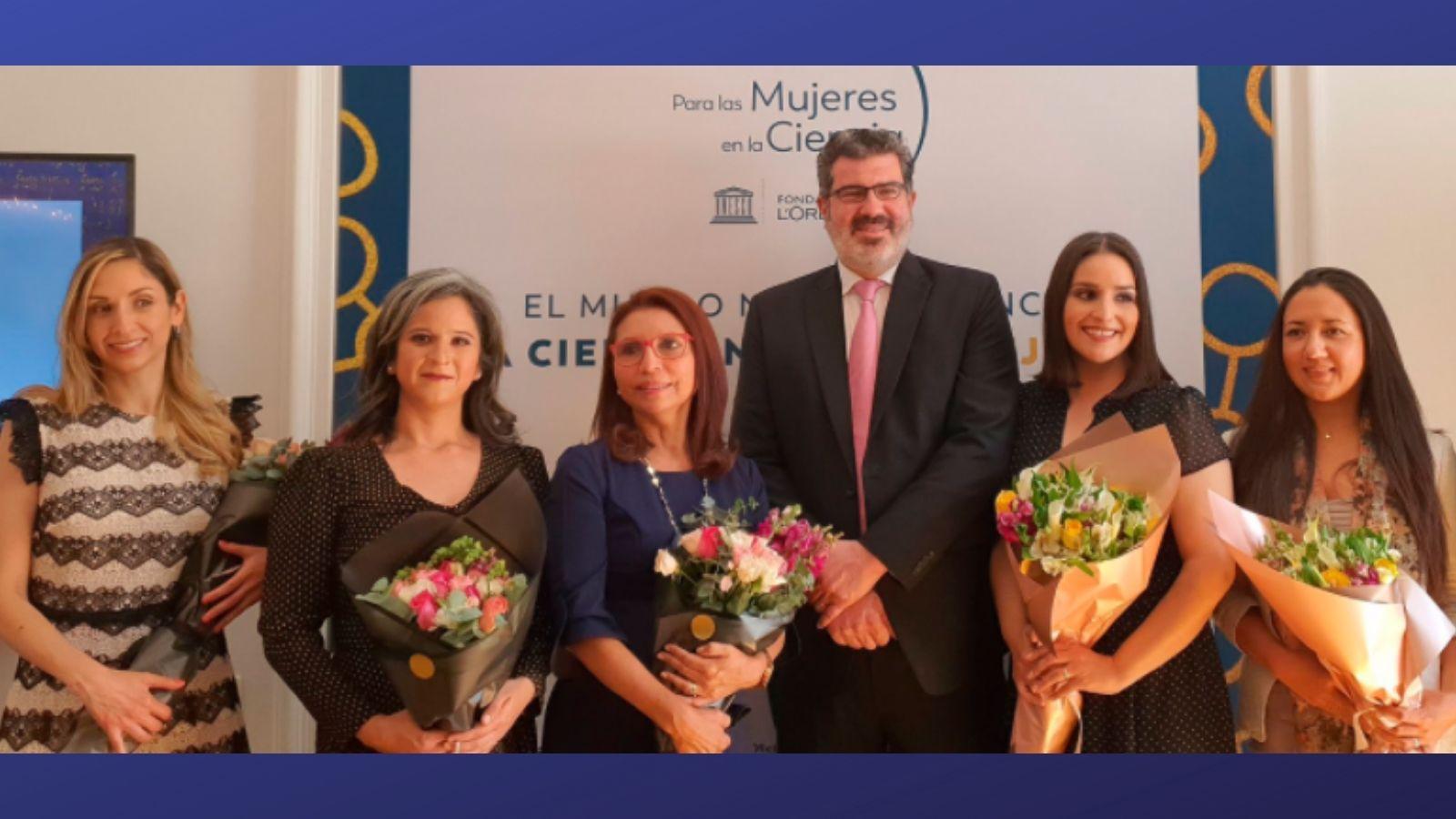 CIENTÍFICAS MEXICANAS RECIBEN PREMIO DE LA UNESCO, AMC Y L'OREAL