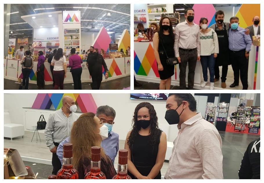 MIPYMES MEXIQUENSES PARTICIPAN EN LA EXPO ANTAD 2021, EN GUADALAJARA