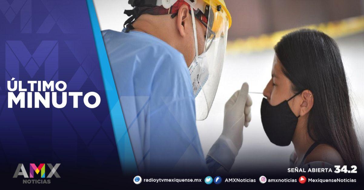MÉXICO REGISTRA 4 MIL 653 NUEVOS CASOS DE CORONAVIRUS EN LAS ÚLTIMAS 24 HORAS