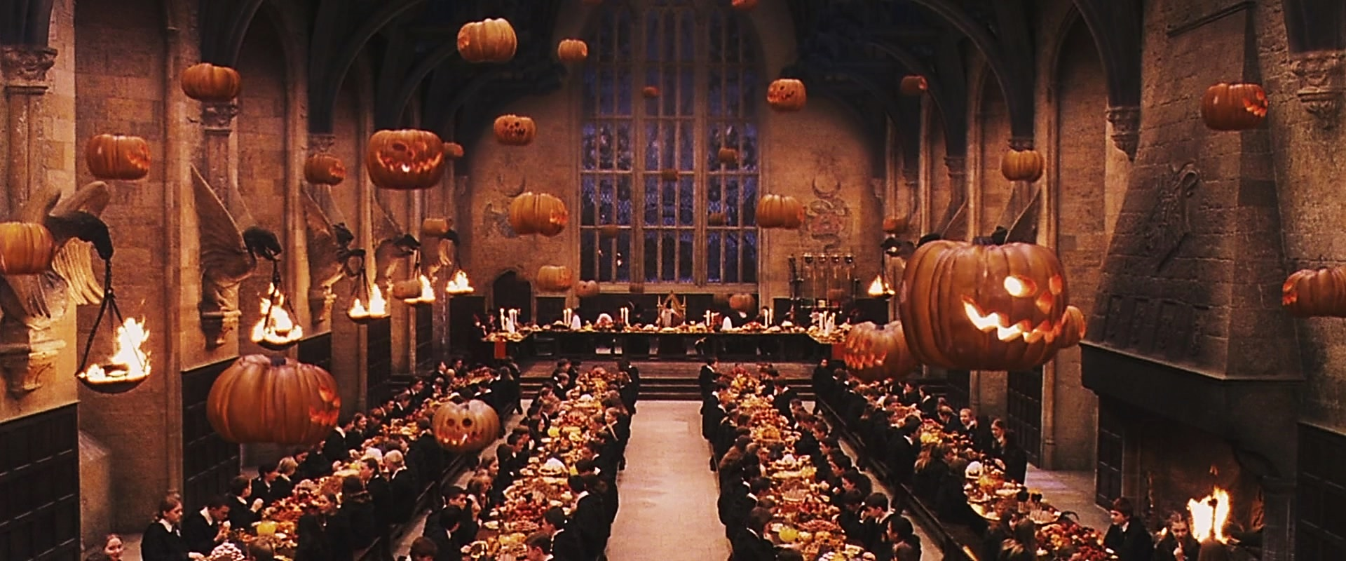 Risultati immagini per halloween hogwarts