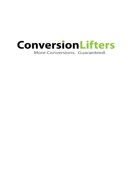 Conversion Optimization Checklist for Conversion Uplift