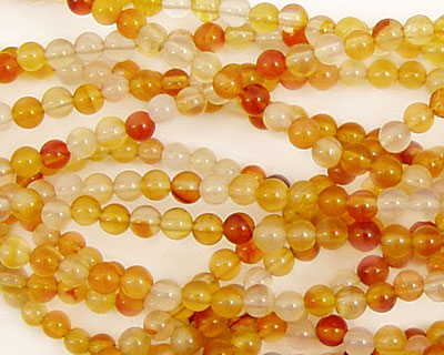 Carnelian (natural) Round 3mm