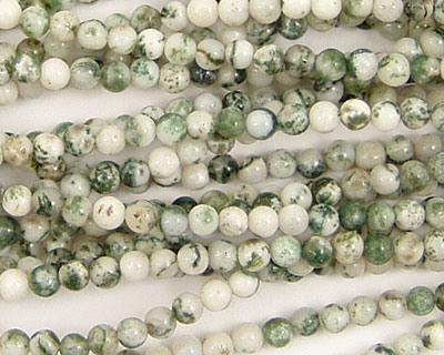 Tree Agate Round 3mm