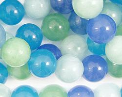 Blue Quartz (rainbow) Round 10mm