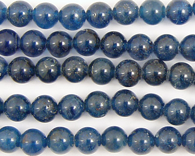 Pacific Blue Apatite Round 6mm