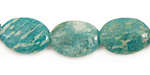 Russian Amazonite Flat Oval 18x13mm