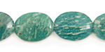Russian Amazonite Flat Oval 20x15mm