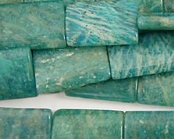 Russian Amazonite Thin Pillow 18x13mm