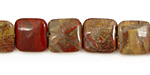 Apple Jasper Puff Square 12mm
