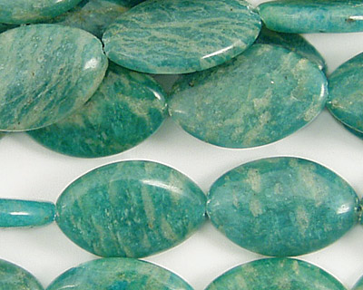 Russian Amazonite Horse Eye 19x12mm