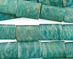 Russian Amazonite Thin Pillow 14x10mm