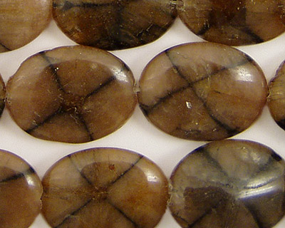 Andalusite Flat Oval 20x15mm