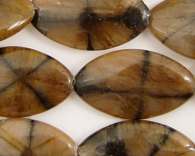 Andalusite Horse Eye 28x16mm