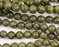 African Green Jasper Round 6mm