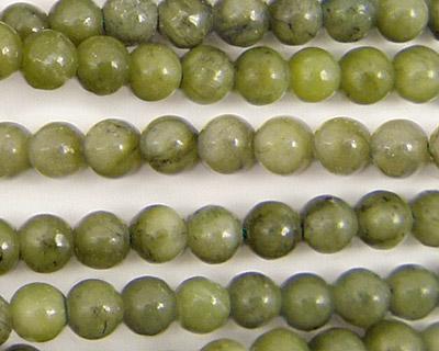 Green Jade Round 6mm
