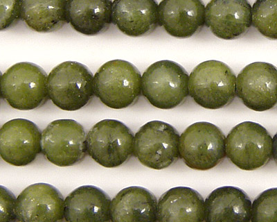 Green Jade Round 8mm