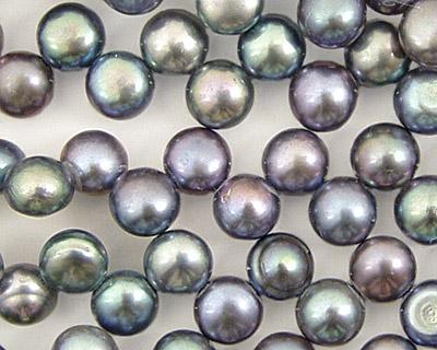 Peacock (light) Dancing Button 6-6.5mm