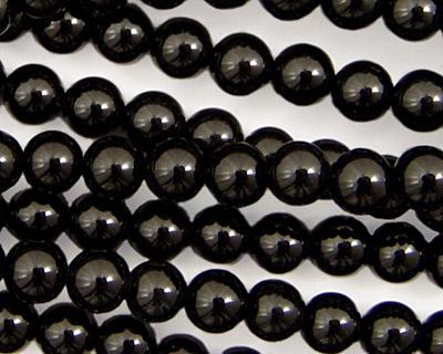 INACTIVE Black Onyx Round 6mm