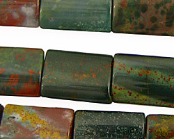 Bloodstone (rich coloring) Thin Pillow 18x13mm