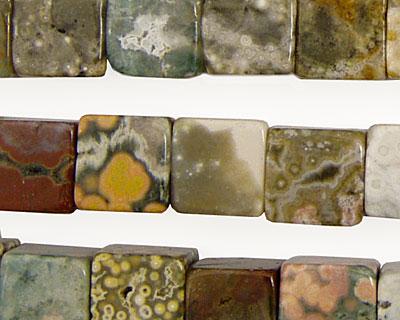 Ocean Jasper Cube 10mm