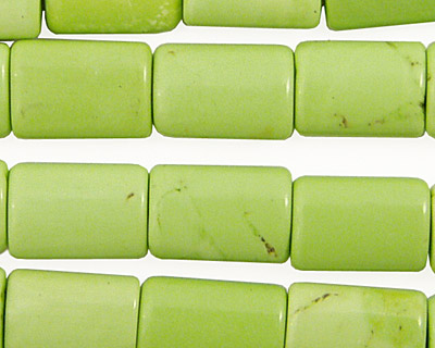 Apple Green Turquoise Thin Pillow 14x10mm