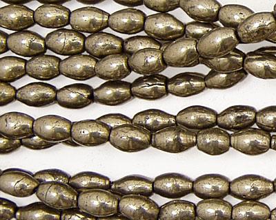 Golden Pyrite Rice 5-6x3-4mm