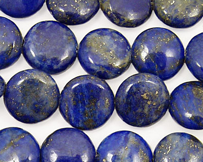 Lapis Puff Coin 12mm