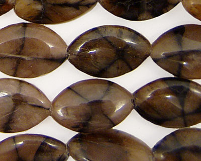 Andalusite Horse Eye 19x12mm