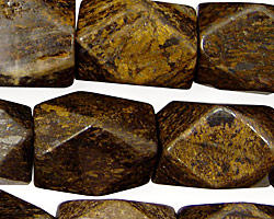 Bronzite Faceted Nugget 18x12-15mm