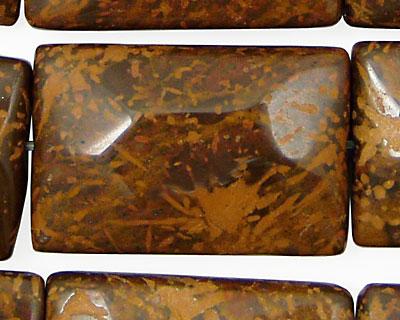 Star Jasper Faceted Pillow 30x20mm