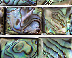 Abalone Thin Pillow 20x15mm