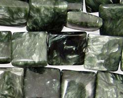 Seraphinite Flat Square 12mm