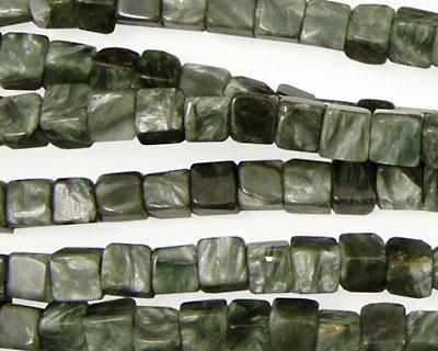Seraphinite Cube 4mm