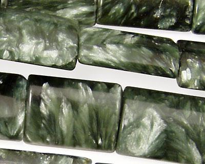 Seraphinite Thin Pillow 18x13mm
