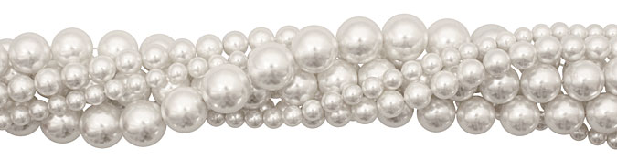 Pearly White Shell Pearls