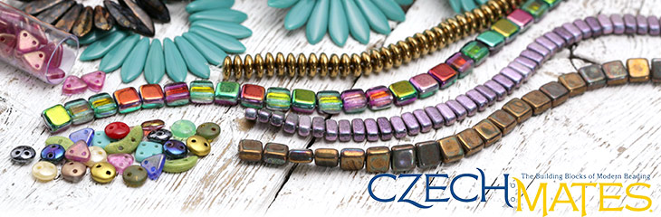 CzechMates Multi-Hole Beads