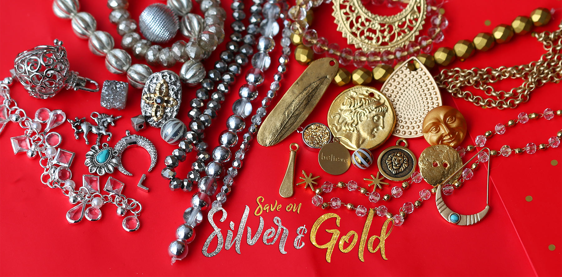 Silver & Gold Sale at Lima Beads